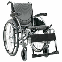 Karman Healthcare Ergonomic Lightweight Wheelchair with Quick Release Axles