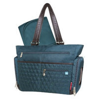 Fisher-Price FastFinder Quilted Diaper Bag Tote - Teal