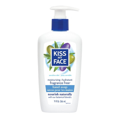 Kiss My Face Moisture Soap Fragrance Free