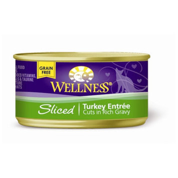 Wellness Turkey Strip Canned Cat Food (3-oz, case of 24)