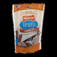 Nylabone Daily Health Hoppin' Hips! Chews - 10 CT