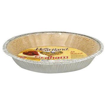 Heartland Graham Pie Crust, 6 oz (Pack of 12)
