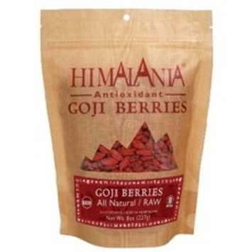Himalania All Natural Raw Goji Berries, 8 Ounce -- 12 per case.