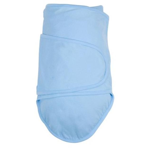 Miracle Blanket Baby Swaddling Blanket Blue