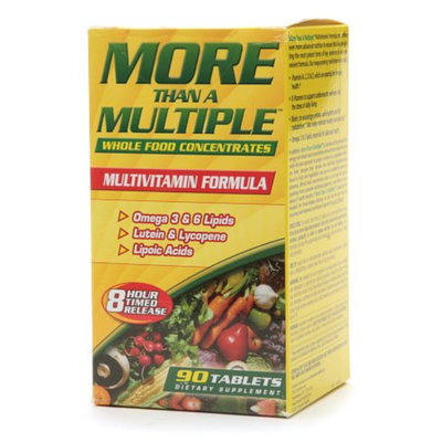 American Health More Than A Multiple Multivitamin Formula