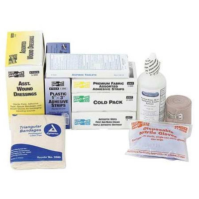 Pac-Kit First Aid Kit Refill (165 pcs). Model: 6095G