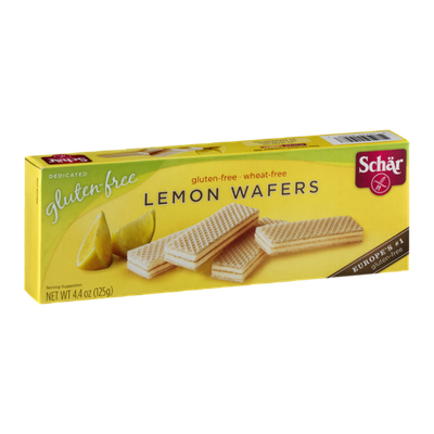 Schar Gluten-Free Lemon Wafers