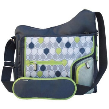 JJ Cole System 180 Diaper Bag, Navy Drop