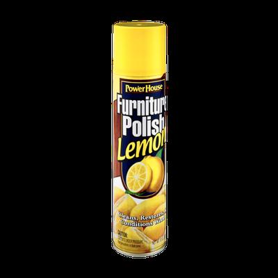 PowerHouse Lemon Furniture Polish