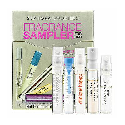 Sephora Favorites Beauty To Go Fragrance Sampler For Her 0.05 oz