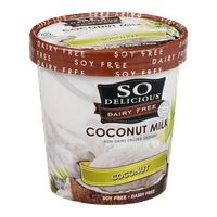 So Delicious Dairy Free Coconut Milk Frozen Dessert Coconut