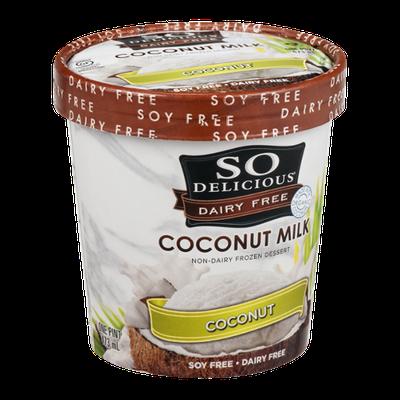 So Delicious Dairy Free Coconut Milk Frozen Dessert Coconut