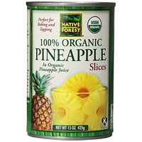 Native Forest Organic Pineapple Slices