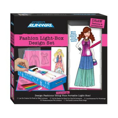 Fashion Angels Project Runway Travel Fashion Design Light Box