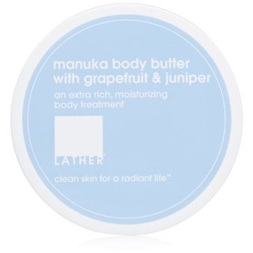 Lather HER Manuka Body Butter, 4-Ounce Jar