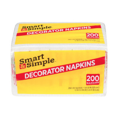 Smart & Simple Decorator Napkins