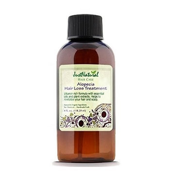 Just Natural Alopecia Hair Loss Treatment, 4 Ounce