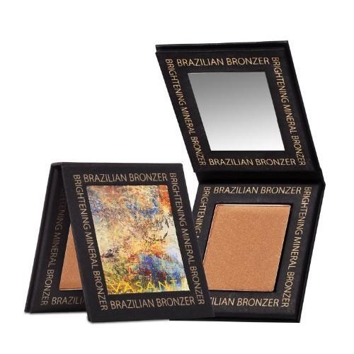 Vasanti Cosmetics Brazilian Bronzer - Brightening Mineral Bronzer - Talc-Free, Paraben-Free