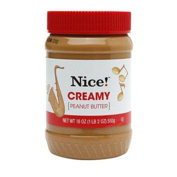 Nice! Peanut Butter, Creamy, 18 oz