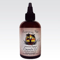 Sunny Isle's Jamaican Organic Pimento Oil with Black Castor Oil 4 oz (JBCO)
