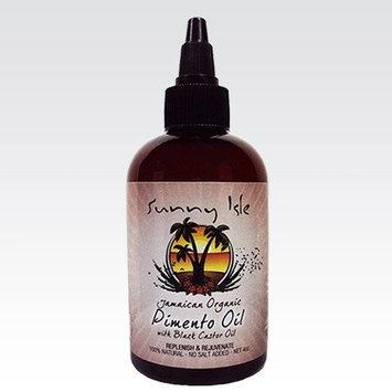 Sunny Isle's Jamaican Organic Pimento Oil with Black Castor Oil 4 oz (JBCO)