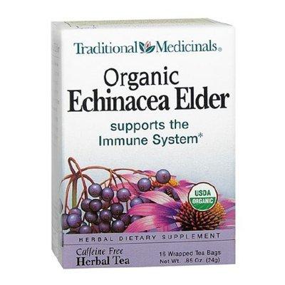 Traditional Medicinals Organic Herbal Tea Bags Echinacea,6 Pack