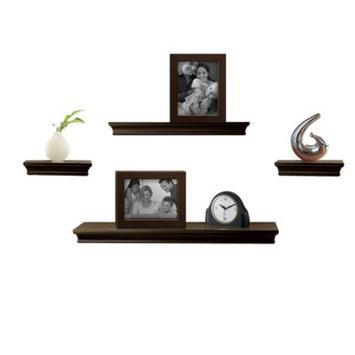 Wall Shelves: Wall Shelf: Threshold™ Wall Shelves & Frame - Set