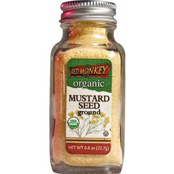 Red Monkey Foods Mustard Seed, 0.8 -Oz Bottles (Pack of 3)