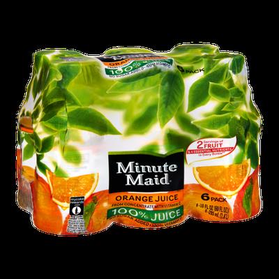 Minute Maid 100% Juice Orange Juice - 6 PK