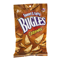 Bugles Sweet & Salty Snack with Caramel