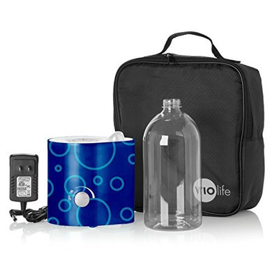 Violife Bubbles Ultrasonic Personal Humidifier with Travel Pouch & Water Bottle