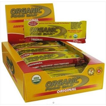 One Degree Organic Foods Bar, 95% organic, Original , 68 grm (pack of 12 )