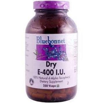 Dry Vitamin E 400 IU Bluebonnet 250 VCaps