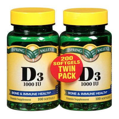 Spring Valley High-Potency Vitamin D-3 1000 IU