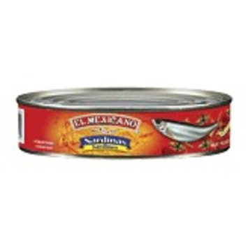 El Mexicano Sardines Regular (15 oz.)
