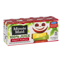 Minute Maid 100% Juice Fruit Punch - 10 CT