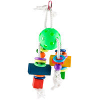 All Living ThingsA Waffle Ball Bird Toy