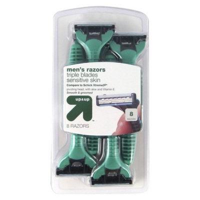 up & up up&up Men's Sensitive Skin Triple Blade Disposable Razors - 8ct.