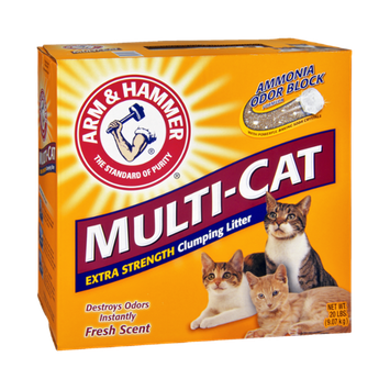 ARM & HAMMER™ Multi-Cat Extra Strength Fresh Scent Clumping Litter