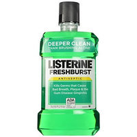Listerine Antiseptic Mouthwash, Fresh Burst 1.5 Liter (Pack of 2)