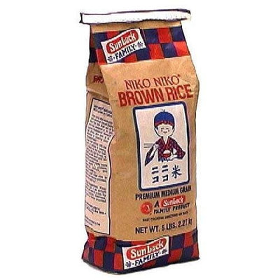 Sun Luck Niko Niko Brown Rice 5 LB