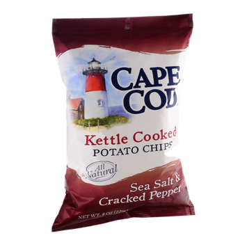 Cape Cod Sea Salt & Cracked Pepper Potato Chips