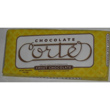 Goya Chocolate Cortes Sweet Chocolate 7 Oz 198g