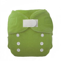 Thirsties Duo Fab Fitted Cloth Diapers, Meadow, Size One (6-18 lbs)