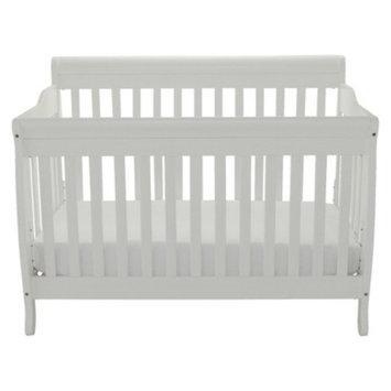 Athena Mikaila Loren 3-in-1 Convertible Crib - White