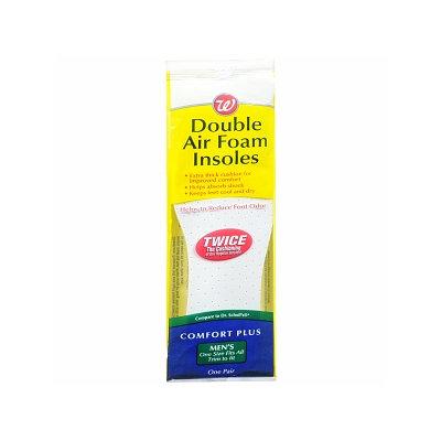 Walgreens Double Air Foam Insoles Men's