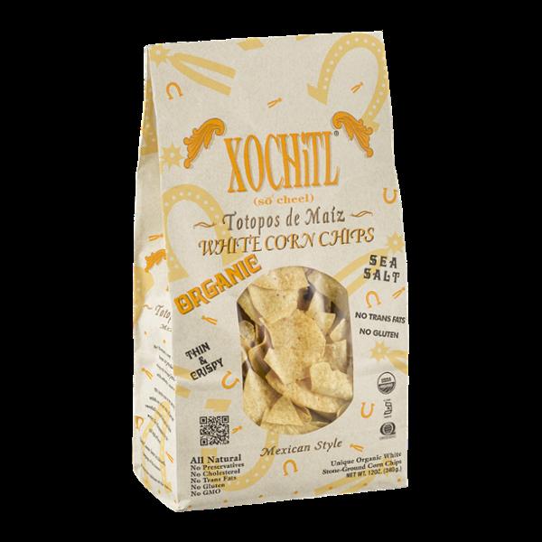 Xochitl Organic White Corn Chips Mexican Style