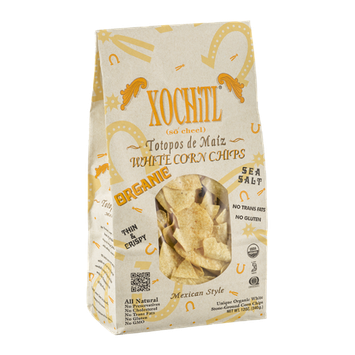Xochitl Organic White Corn Chips Mexican Style
