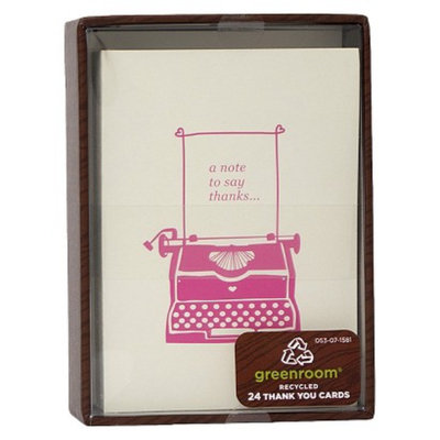 Clementine Paper Thank You 24Ct Iconic Typewritter