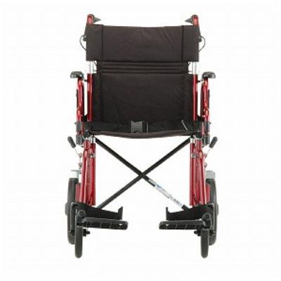 Nova Transport Chair Lightweight: Hand Brakes
